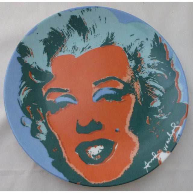 Andy Warhol Marilyn Monroe Dinner Plates - Set of 5 For Sale - Image 4 of 11