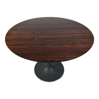 Mid-Century Modern Maurice Burke for Arkana Rosewood Tulip Dining Table For Sale