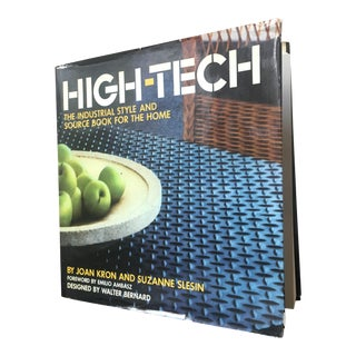 "1978 Vintage ""High-Tech"" Book For Sale"