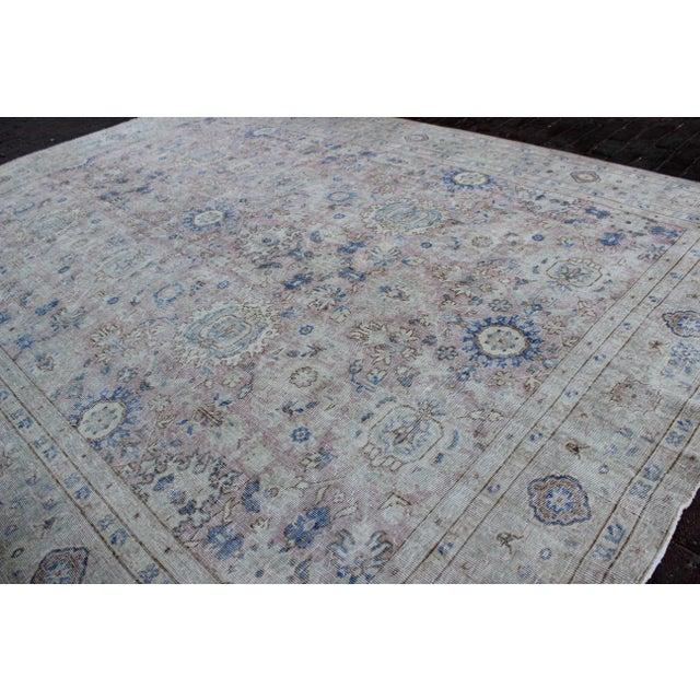 Islamic Vintage Sivas Turkish Wool Rug - 8′1″ × 11′1″ For Sale - Image 3 of 8