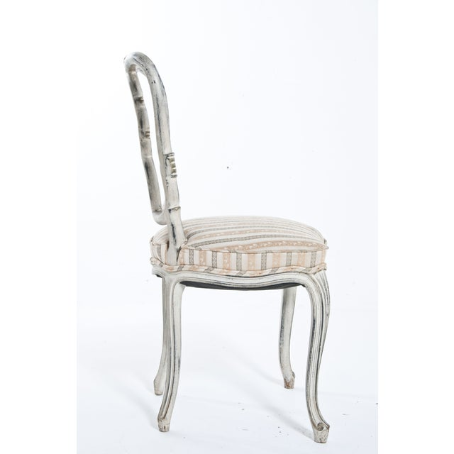 Mid 20th Century Painted Ribbon Chair For Sale - Image 5 of 8
