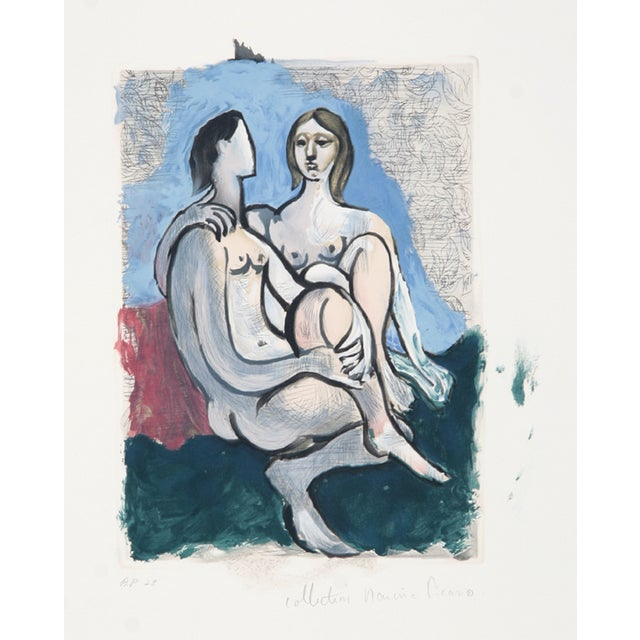 "Pablo Picasso, ""La Couple,"" Lithograph For Sale"