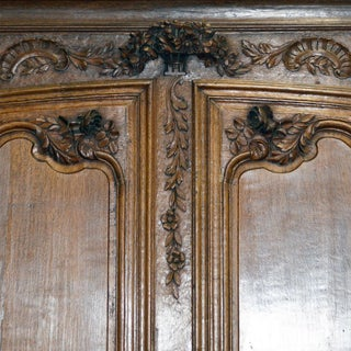 18th Century French Country Armoire Carved Oak Normandy Wedding Armoire Preview