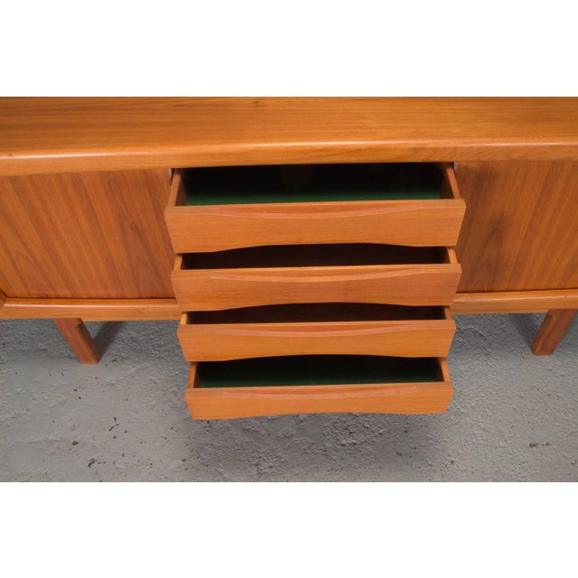 Mid 20th Century Danish Modern Teak Sideboard For Sale - Image 5 of 10