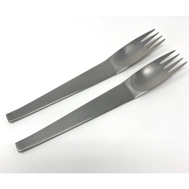 Carl Auböck for Amboss 2060 Flatware Set - 44-Pieces For Sale In Sacramento - Image 6 of 13
