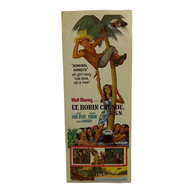 """Lt. Robin Crusoe, U.S.N."" Vintage Movie Poster For Sale"