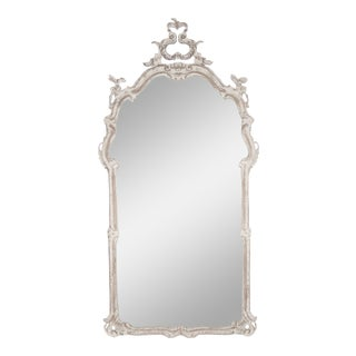 Windsor Mirror in Off-White For Sale