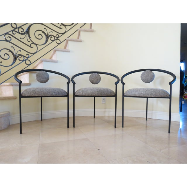 New Completely Restored Memphis Style Chairs - S/3 - Image 2 of 10