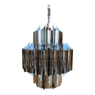 Rh Modern Cathedral Chandelier Designed by Robert Sonneman For Sale
