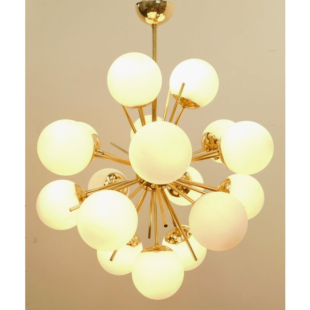 Fabio Ltd Diciotto Sputnik Chandelier by Fabio Ltd For Sale - Image 4 of 9