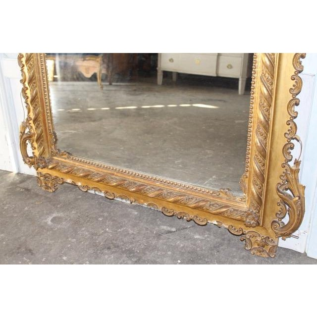 18th Century Antique French Louis Philippe Mirror For Sale In Atlanta - Image 6 of 8