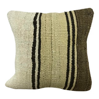 Turkish Tribal Decorative Handmade Kilim Pillow Cover For Sale