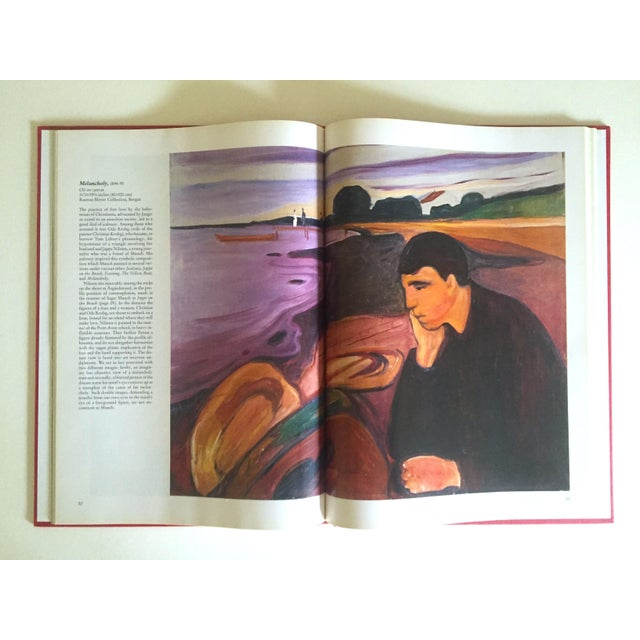 """Black """" Munch """" First Edition Vintage 1990 Expressionist Hardcover Art Book For Sale - Image 8 of 13"""