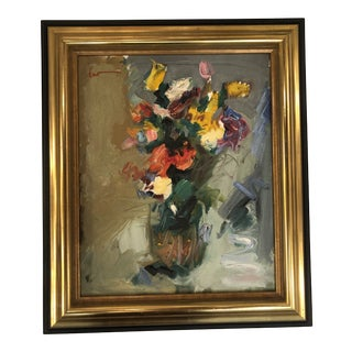 1960's Abstract Still Life by Spanish Artist For Sale
