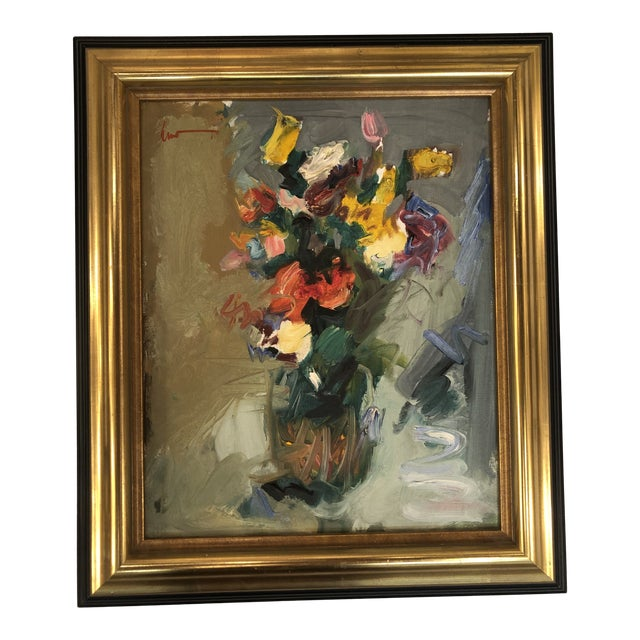 1960 S Abstract Still Life By Spanish Artist