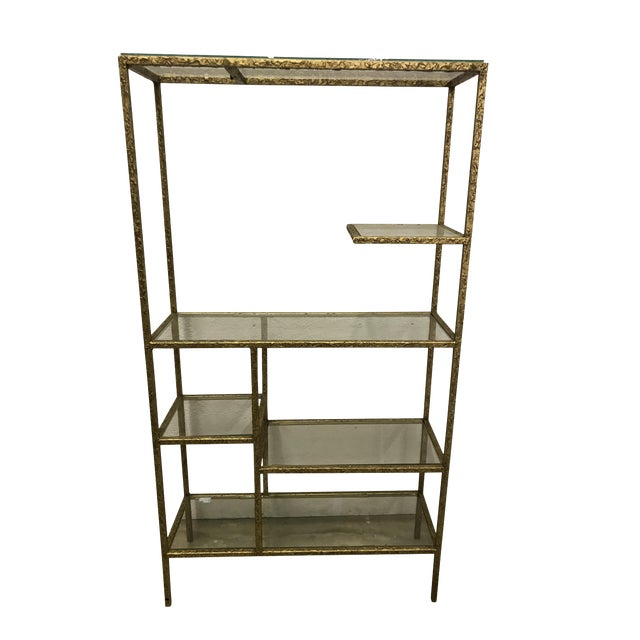 Gilded Etagere For Sale
