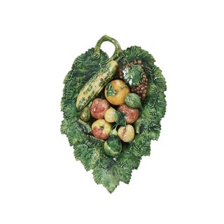 Palissy Plate With Fruit For Sale