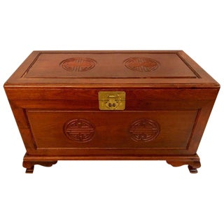 Custom Chinese Vintage Dowry / Blanket Chest For Sale