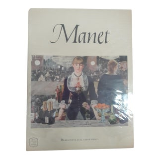 Manet Art Book With Prints