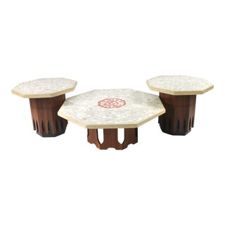 Harvey Prober Coffee and End Table Set - 3 Pieces For Sale