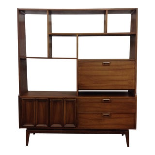 1960's American Wall Unit by Hooker Furniture
