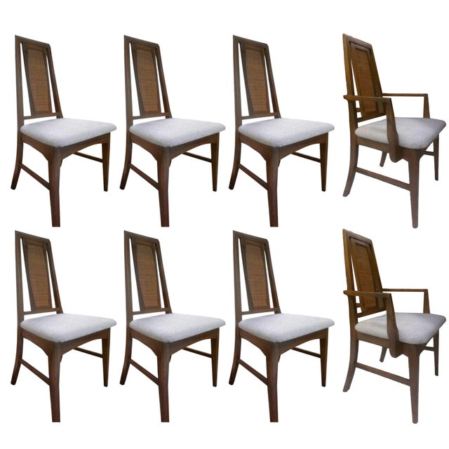 Mid-Century Modern Dining Chairs - Set of 8 - Image 1 of 3