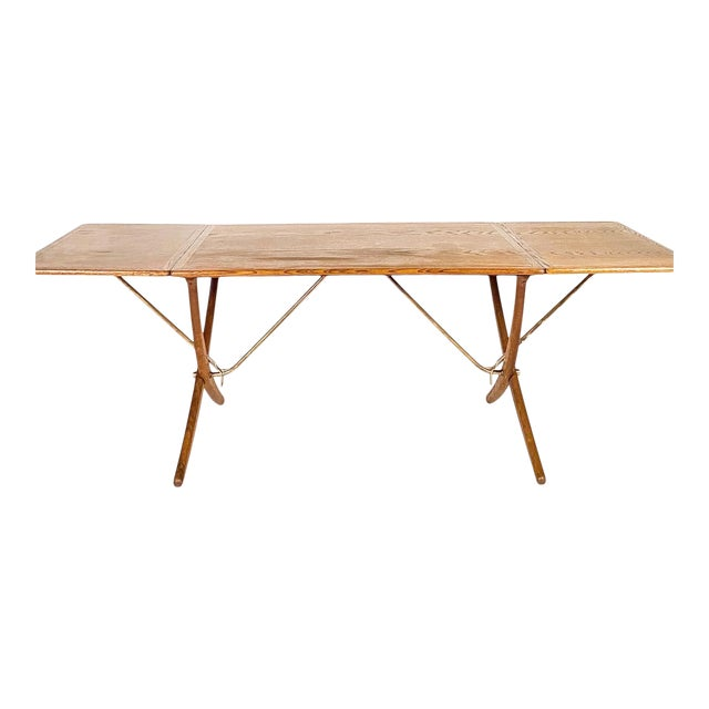 Hans Wegner Andreas Tuck Oak Dining Table For Sale