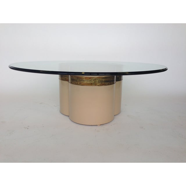Bernhard Rohne Mastercraft Trifoliate Coffee Table For Sale In Saint Louis - Image 6 of 6