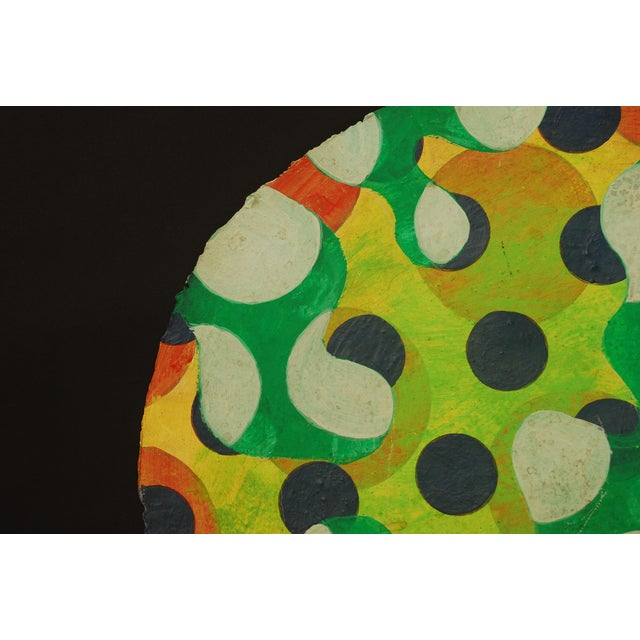Tondo 1 Abstract Painting - Image 3 of 4