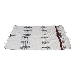 Large Homespun African Wool Fulani Throw For Sale