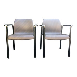1980s Vintage Herman Miller Stacking Chairs- a Pair For Sale