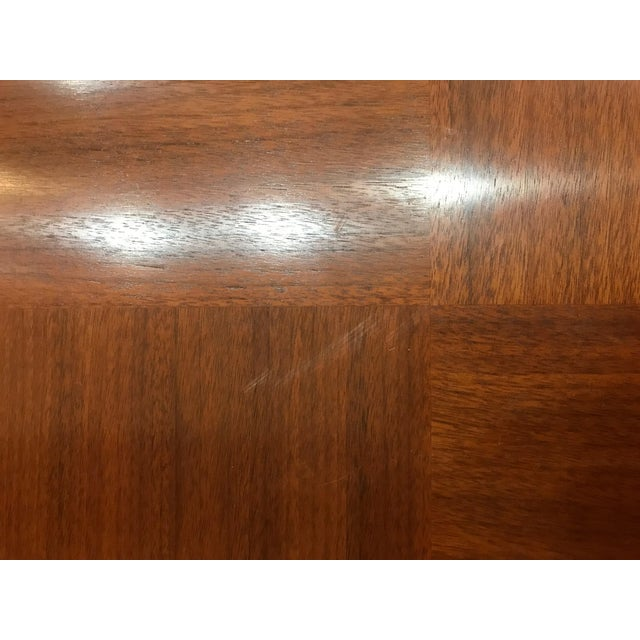 Barbara Barry for Henredon Arts and Crafts Ascot Mahogany Dining Table For Sale - Image 9 of 12
