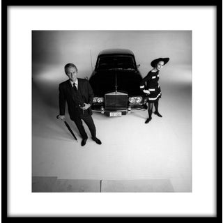 """1968 Steve McQueen and Faye Dunaway for """"The Thomas Crown Affair"""" (11x14 Framed Print) For Sale"""