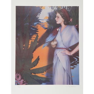 Robert Anderson, on the Amazon, Lithograph For Sale