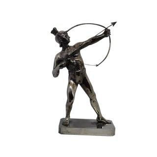 Antique Art Deco Male Nude Archer For Sale