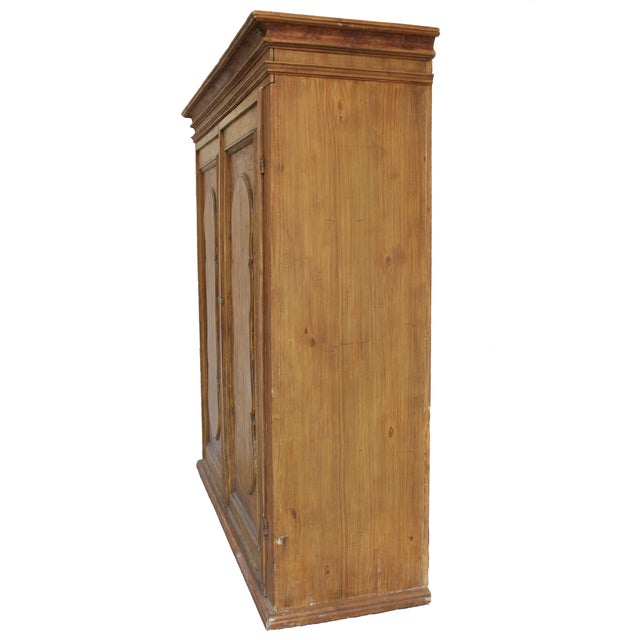 Rustic European Grand Antique 17th Century Tuscan Armoire For Sale - Image 3 of 13