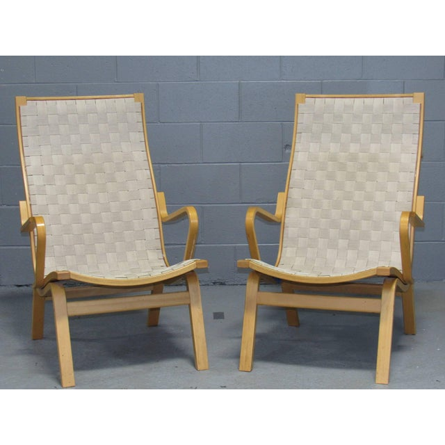 Wood Beech Armchairs by Finn Østergaard- a Pair For Sale - Image 7 of 8
