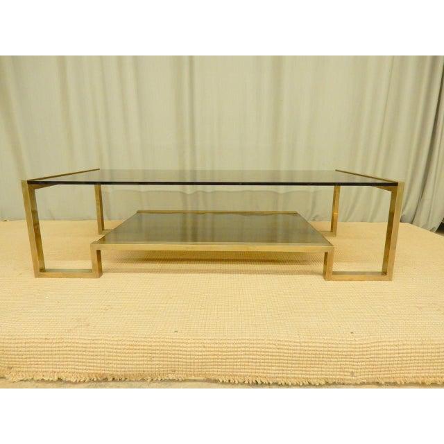 Guy Lefevre' Mid-Century coffee table.