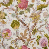 Image of Sample- Schumacher Indian Arbre Wallpaper in Spring For Sale