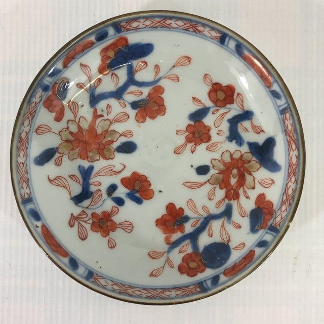 Ceramic Small Imari Porcelain Dish For Sale - Image 7 of 7