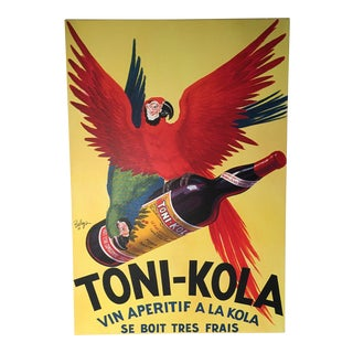 1925 Advertisment on Canvas Wrap For Sale