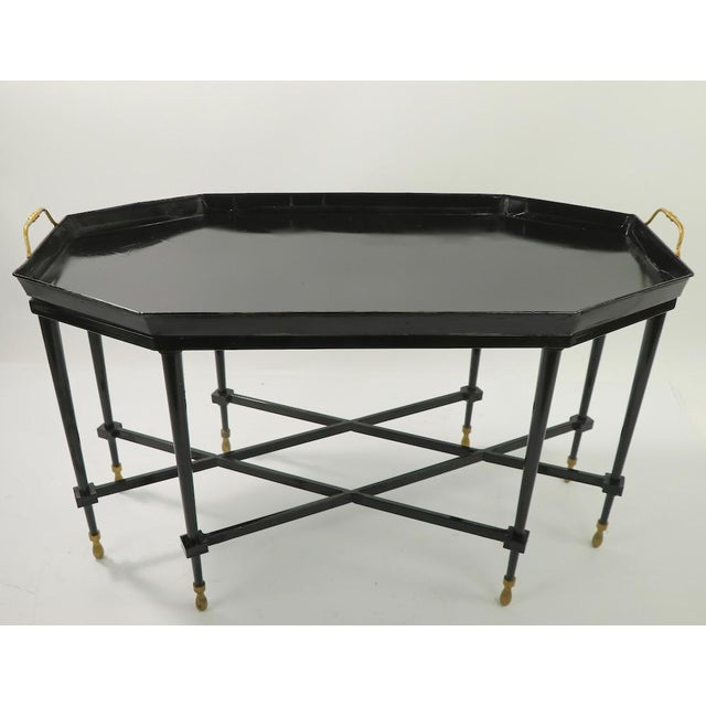 1950s Italian Tray Top Cocktail Table For Sale - Image 12 of 12