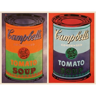 """1993 Andy Warhol """"Campbell's Soup Can, 1965"""", Pop Art Lithograph For Sale"""
