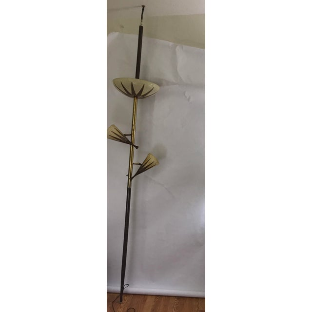 Wolfe Lighting Tension Pole Lamp - Image 3 of 9