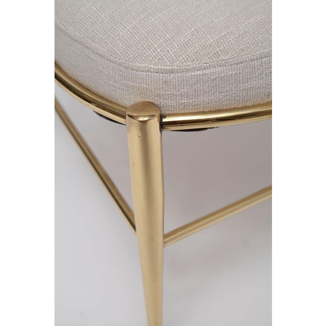 Gold Rare Tall Back Brass Chiavari Chairs With Truncated Legs For Sale - Image 8 of 11