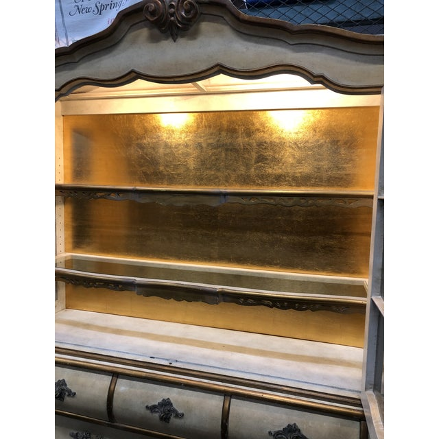 Antique Bombay China Cabinet Circa 1910 For Sale - Image 10 of 13