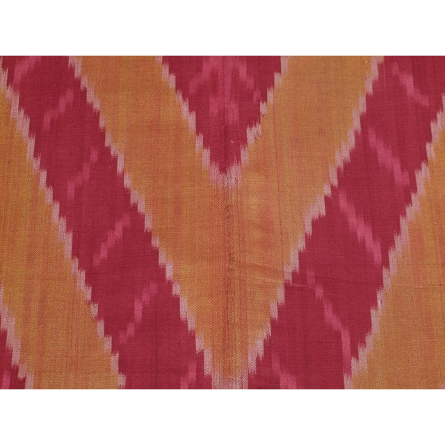 Early 20th Century Ikat Hanging For Sale - Image 5 of 6