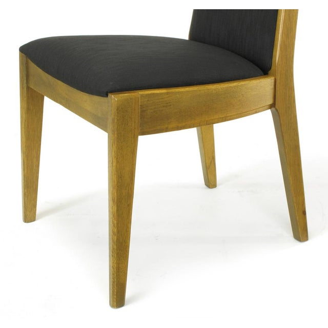 Six Sculpted Ash Tall Back Kroehler Dining Chairs For Sale - Image 9 of 10