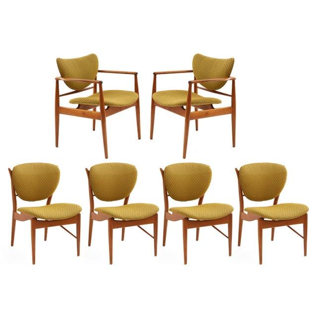 Pair of Finn Juhl 48 Armchairs For Sale In Phoenix - Image 6 of 7