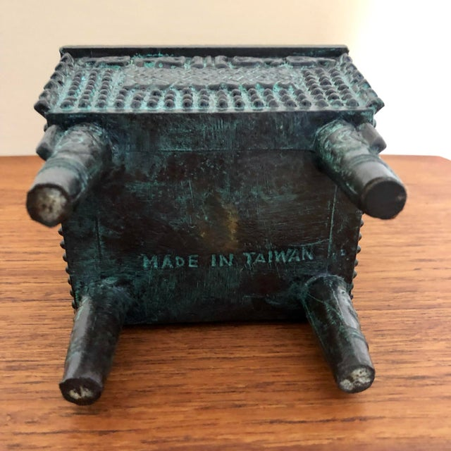 Mid 20th Century Vintage James Mont Ice Bucket For Sale - Image 5 of 6